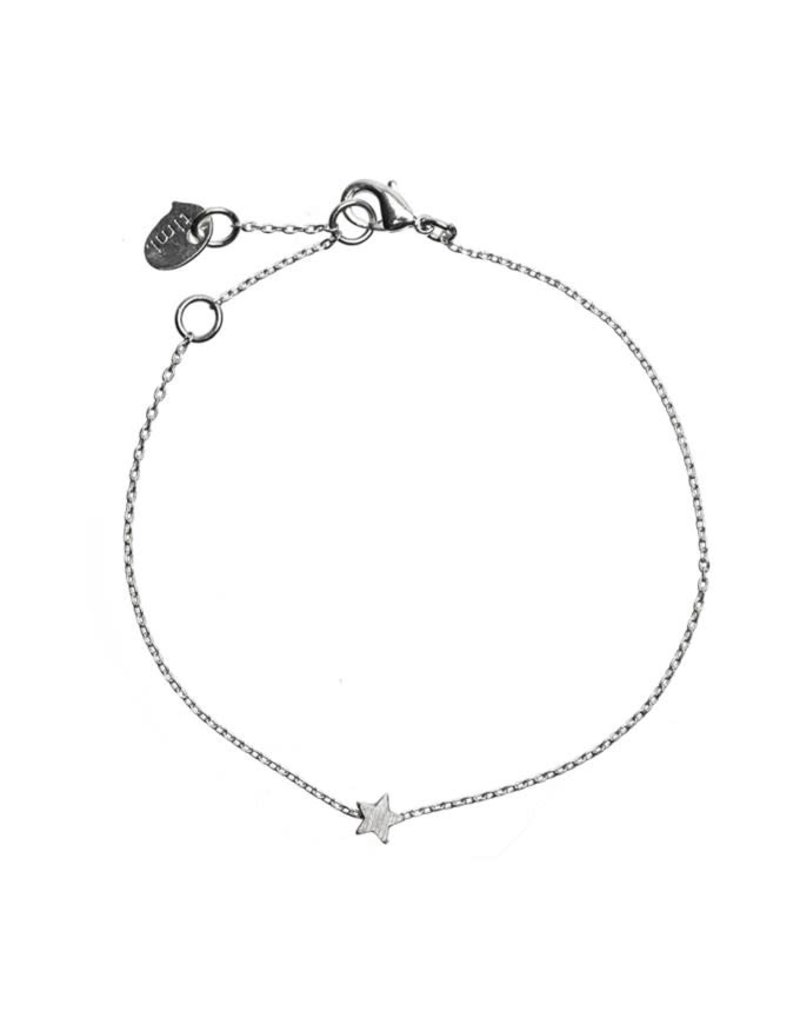 Timi armband - ster (zilver)