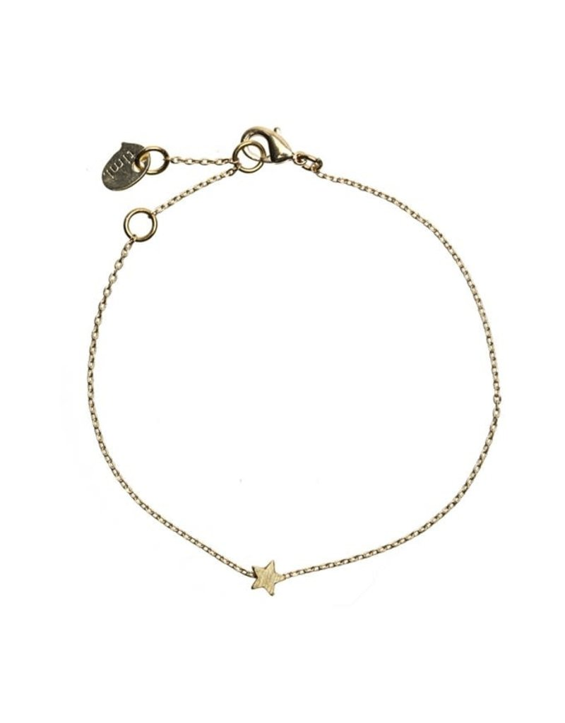 Timi armband - ster (goud)