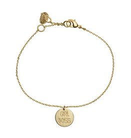 Timi bracelet - girl boss (gold)