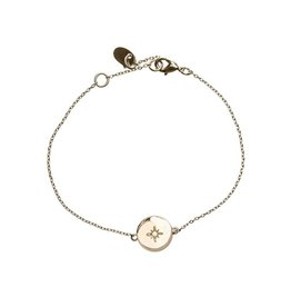 Timi bracelate - star plate (gold)