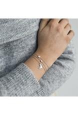 Timi bracelet - heart (silver)