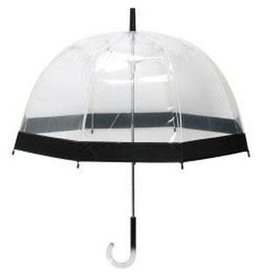 Le Studio umbrella - transparent (black)