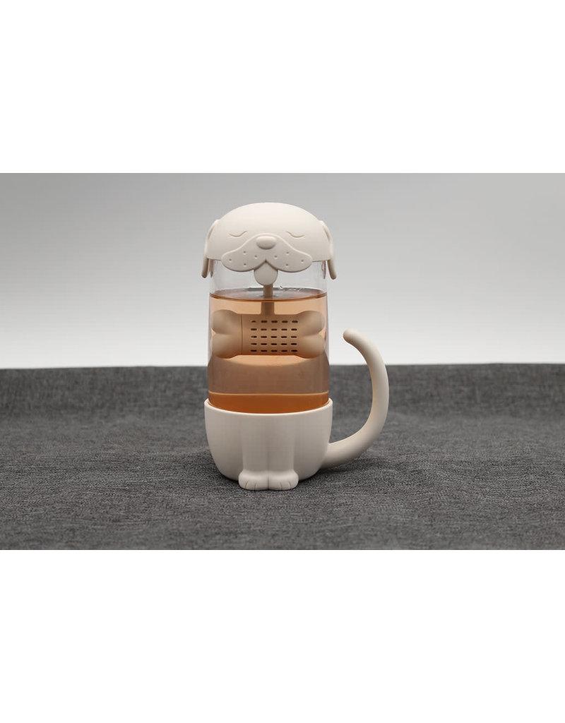 Winkee mug/tea infuser - dog/bone