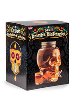 Tobar beverage dispenser - skull
