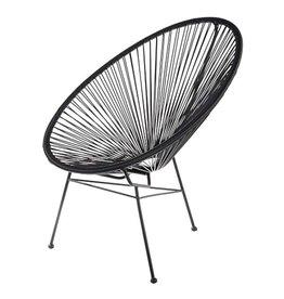 Le Studio armstoel - acapulco (zwart)