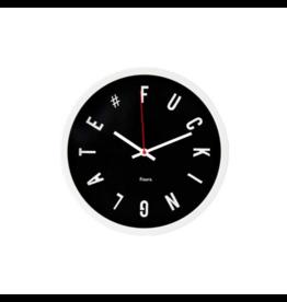 Fisura klok - fucking late (zwart)