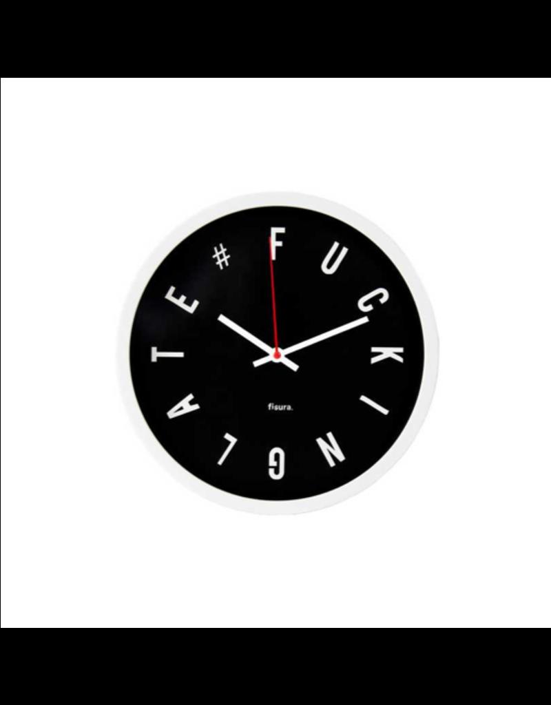 Fisura clock - fucking late (black)