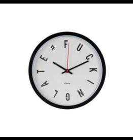 Fisura klok - fucking late (wit)
