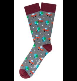 Moustard sokken - aliens (41-46)