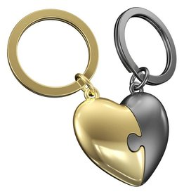 MTM keyring - heart (duo)
