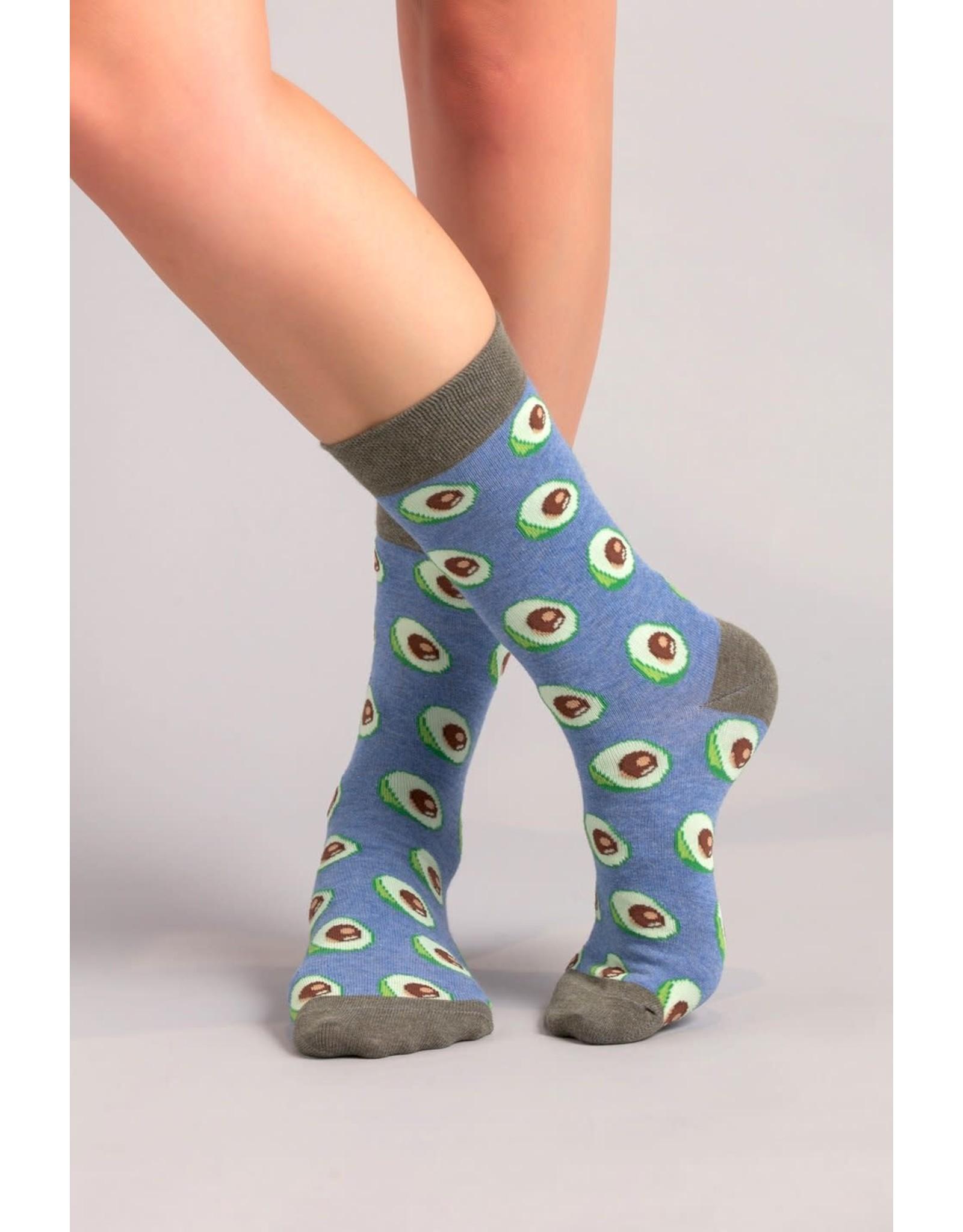 Moustard socks - avocado (36-40)