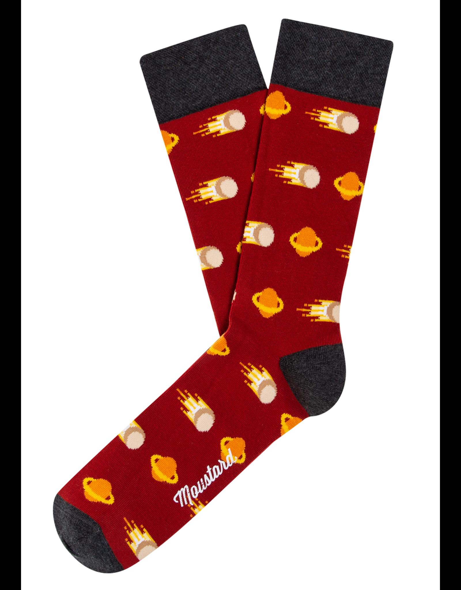 Moustard socks - comets (41-46)