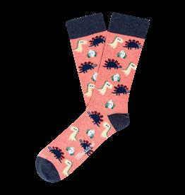 Moustard sokken - dinosaurs chilling (36-40)