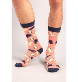 Moustard socks - dinosaurs chilling (36-40)