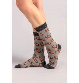 Moustard sokken - donuts (36-40)