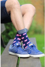 Moustard socks - elephant (41-46)