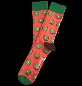 Moustard sokken - kiwi (36-40)