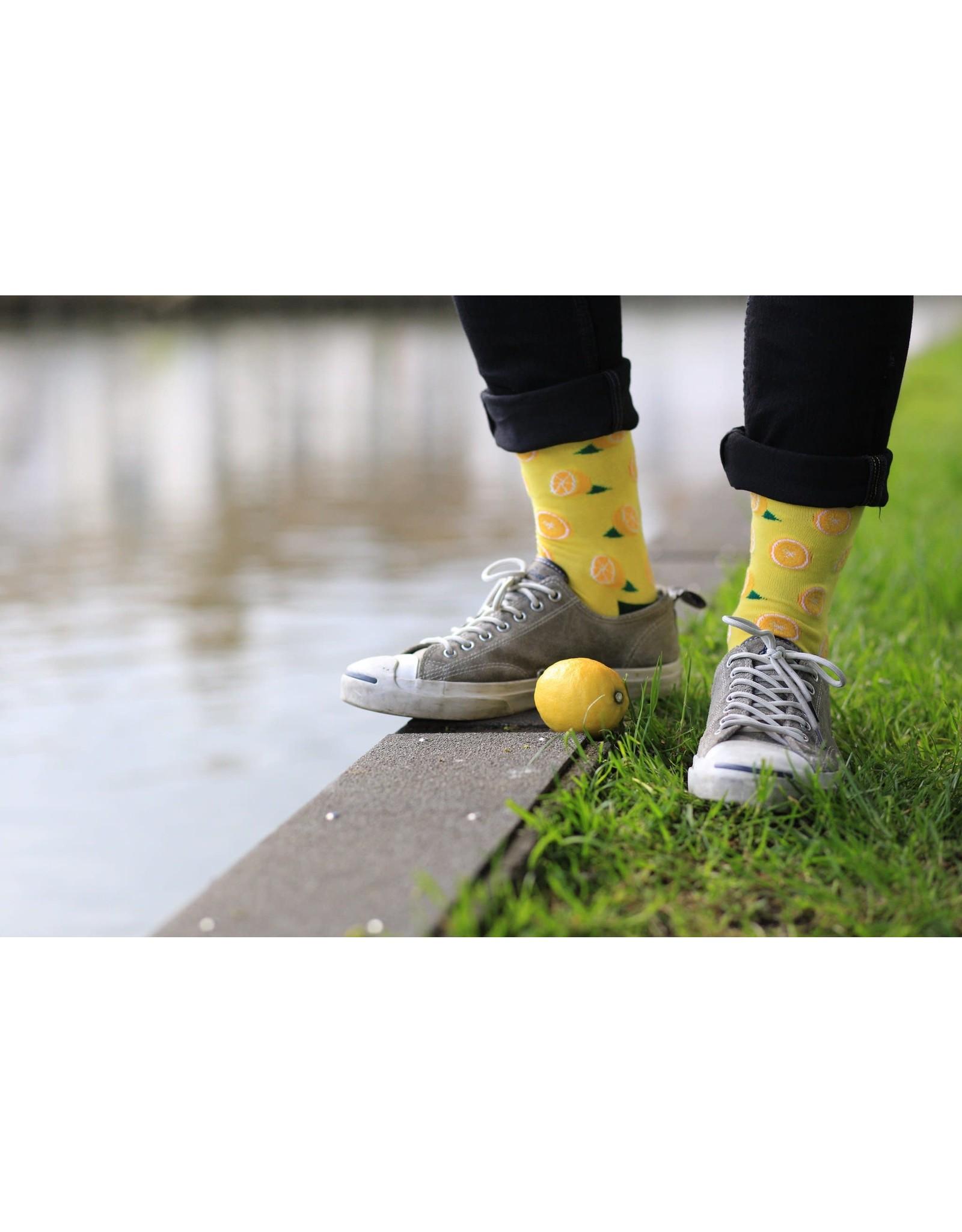 Moustard socks - lemons (41-46)