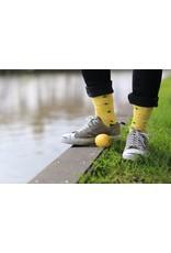 Moustard socks - lemons (36-40)