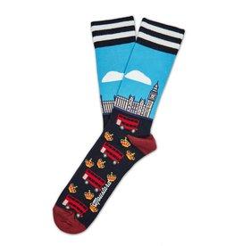 Moustard sokken - London (41-46)