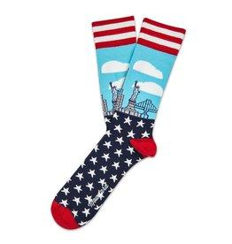Moustard sokken - New York (41-46)