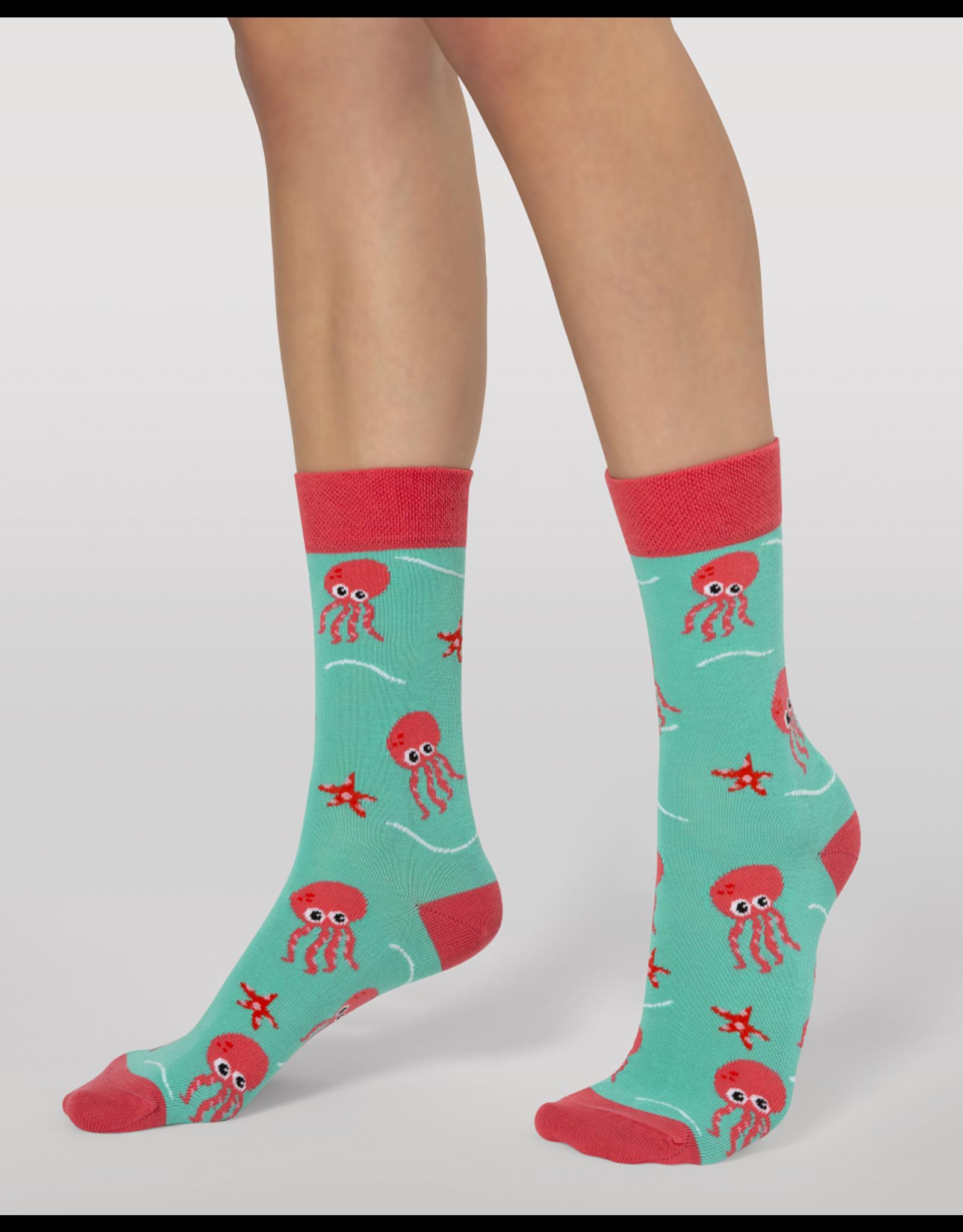 Moustard socks - octopus (41-46)
