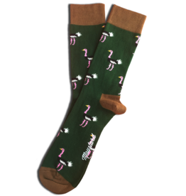Moustard socks - ostrich (36-40)