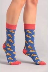 Moustard sokken - pizza (36-40)