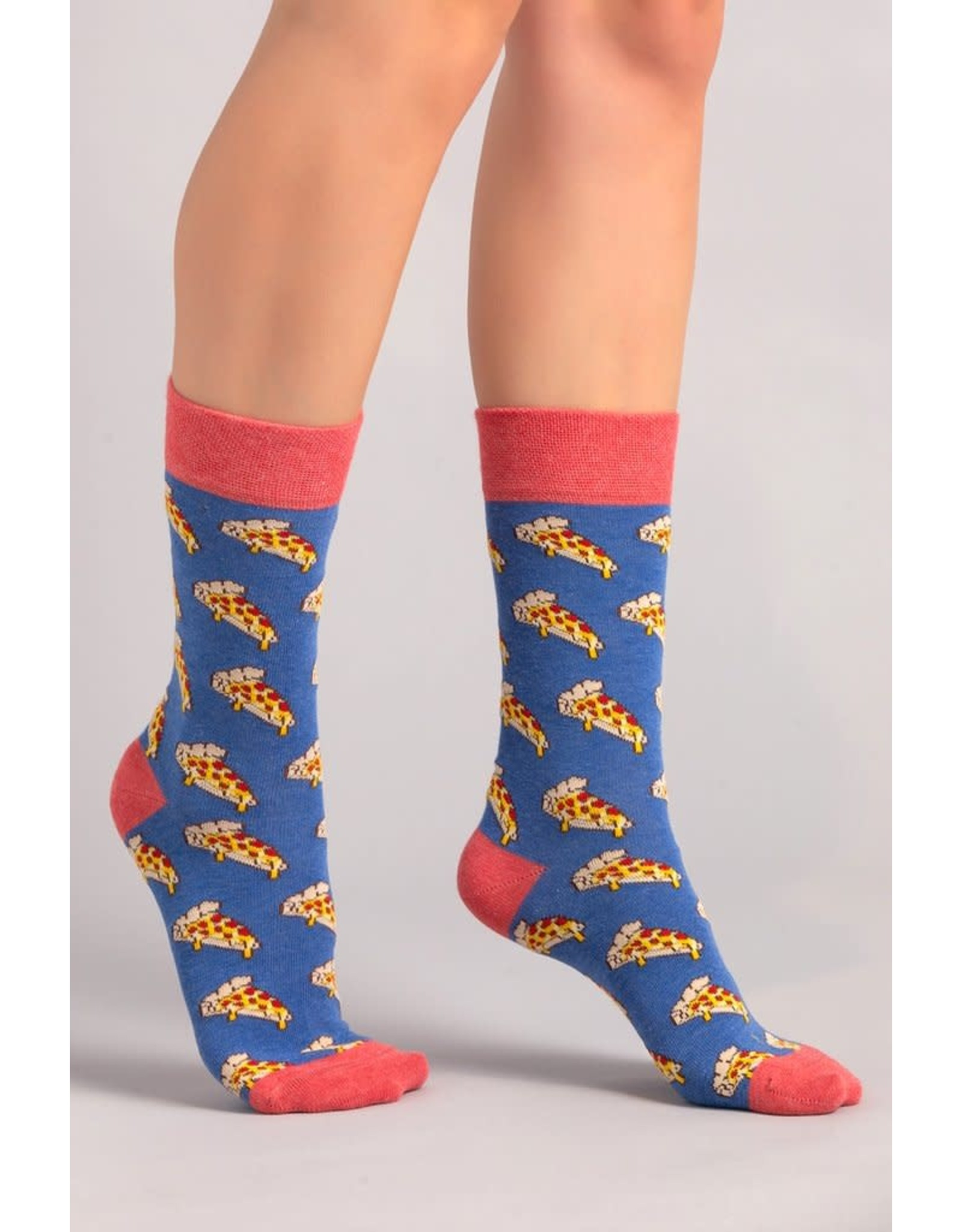 Moustard socks - pizza (36-40)