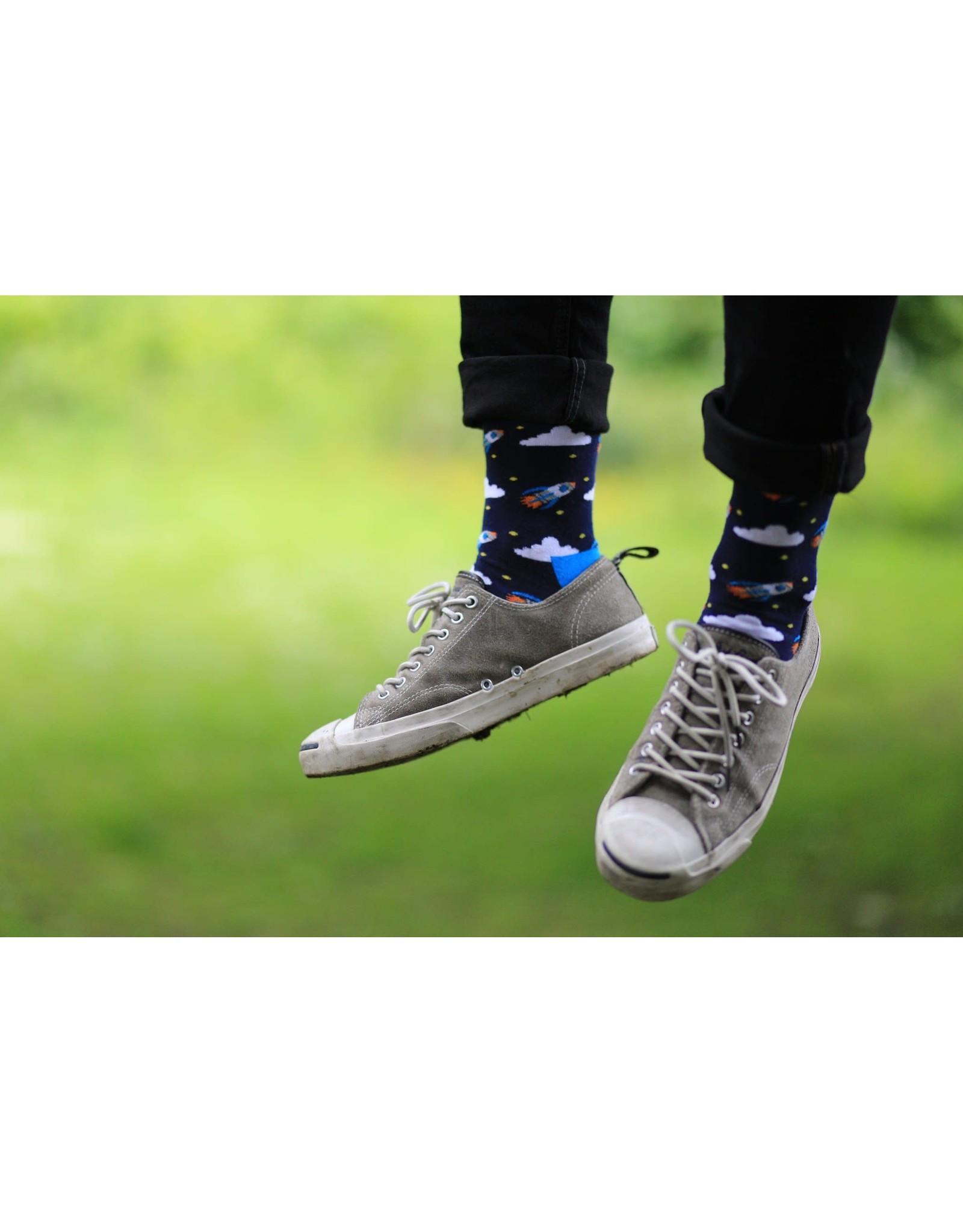 Moustard socks - rockets (41-46)