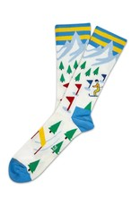 Moustard socks - skies (41-46)