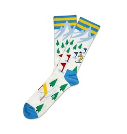 Moustard sokken - skies (41-46)