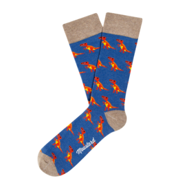 Moustard socks - T-rex (36-40)