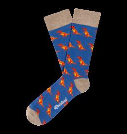 Moustard sokken - T-rex (36-40)