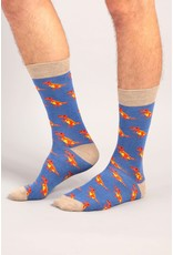 Moustard socks - T-rex (36-40)