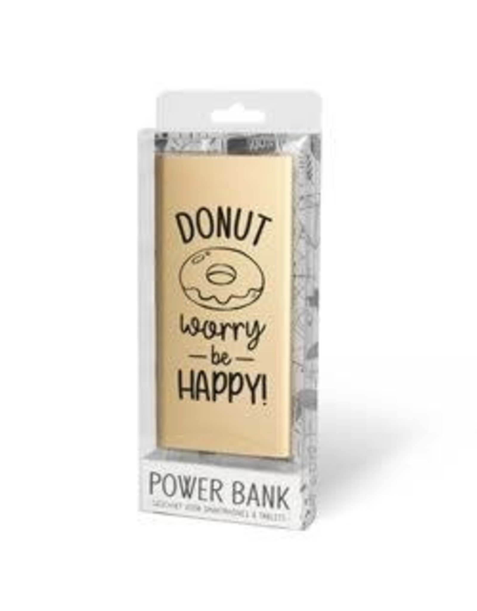 Miko powerbank - donut worry be happy