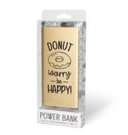powerbank - donut worry be happy