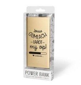powerbank - glimlach