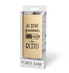 powerbank - jij bent de beste