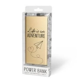 powerbank - life is an adventure