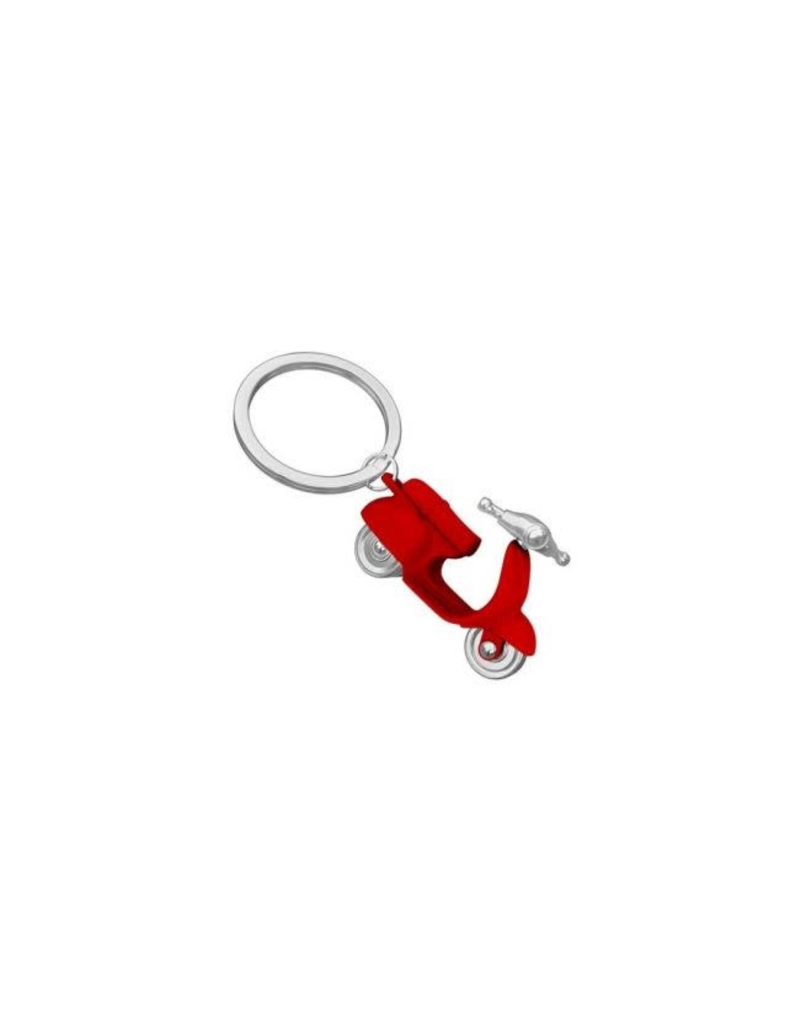 keyring - scooter (red)