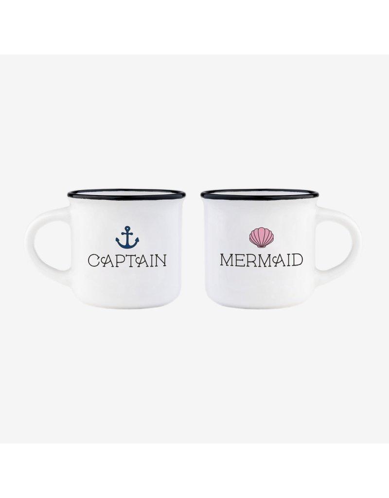 Legami espresso mokken - captain & mermaid