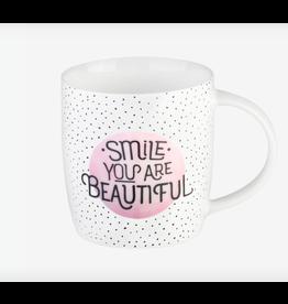 Legami mug - smile, you are beautiful