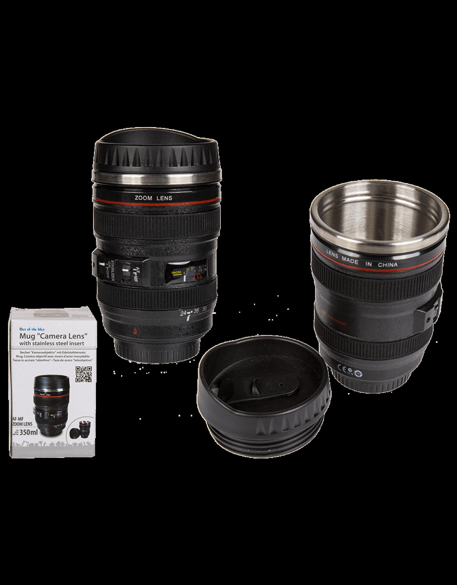 Out Of The Blue mug - camera lens