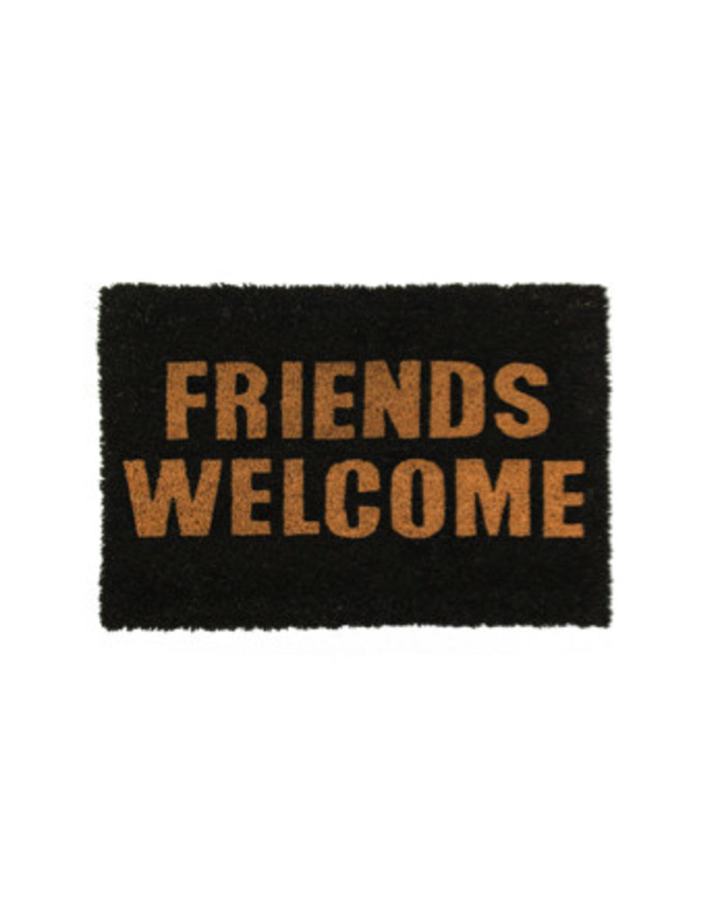Out Of The Blue doormat - friends welcome