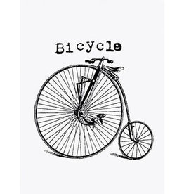 Vanilla Fly poster - bicycle