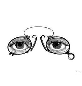 Vanilla Fly poster - eyes