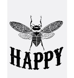 Vanilla Fly poster - happy bee