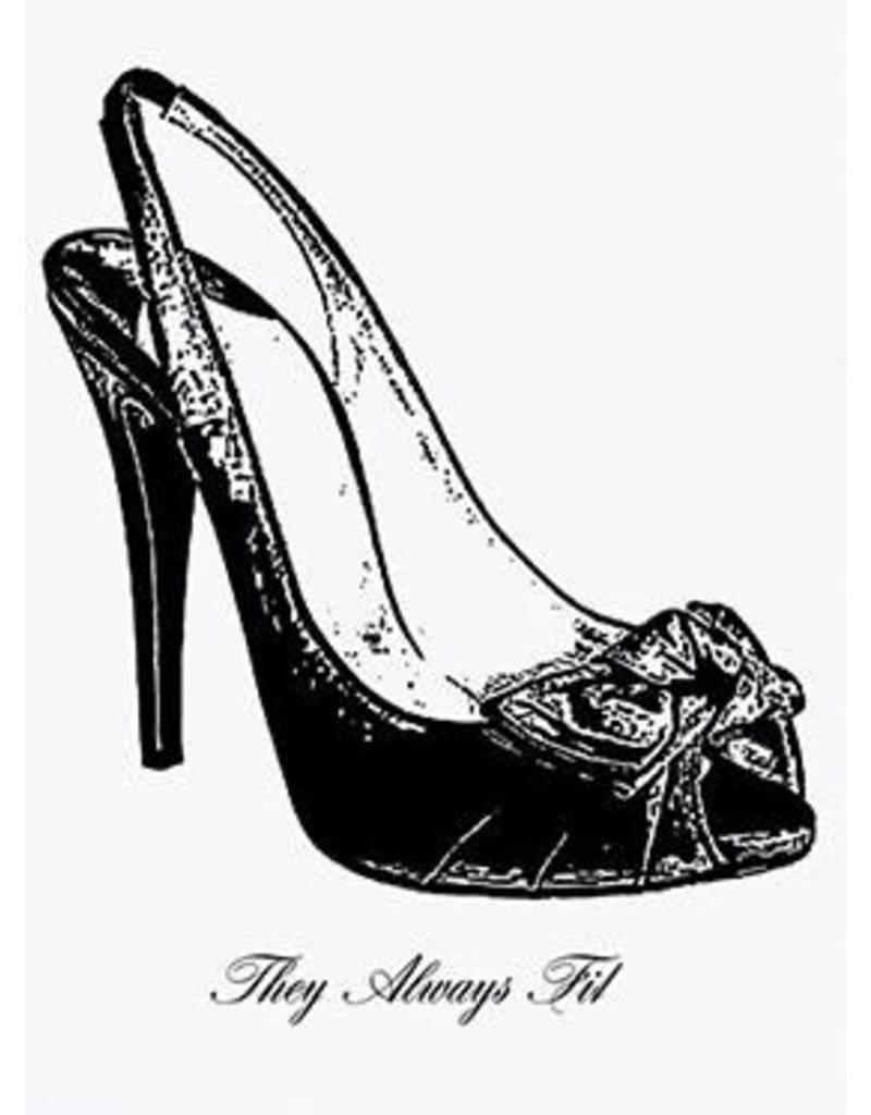 Vanilla Fly poster - shoe