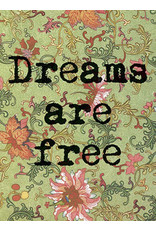 Vanilla Fly poster - dreams are free